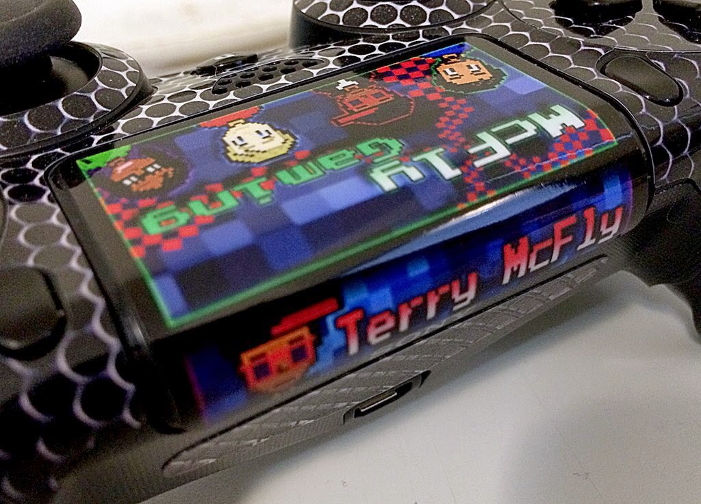 FEATURE: Dualshock 4 Controller Skins & Touchpad Decals – TerryMcFly com