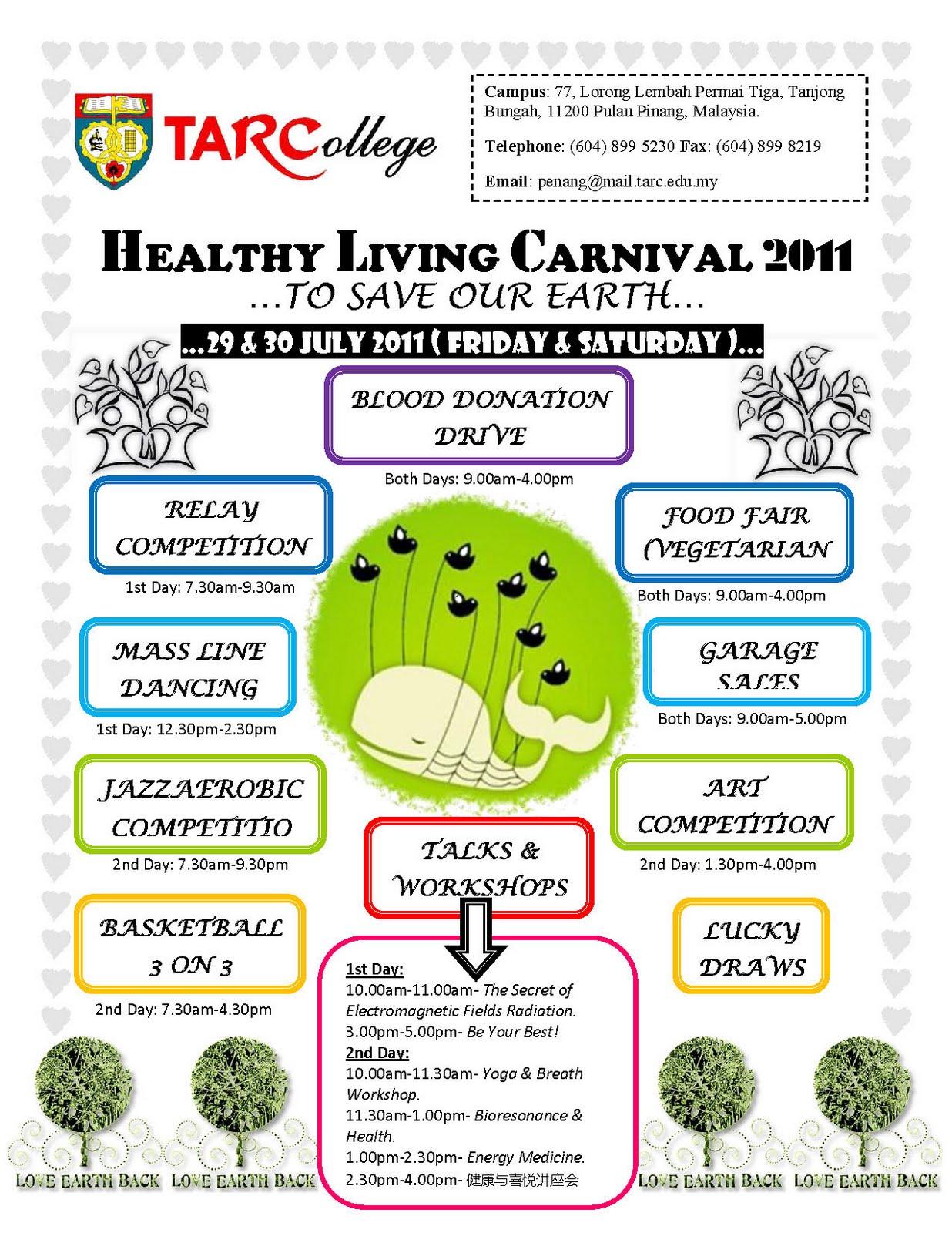 Pencil Box Bookstore Healthy Living Carnival Tar College