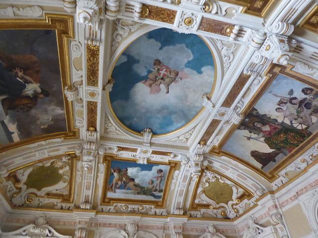 volta del palazzo francesco balbi piovera