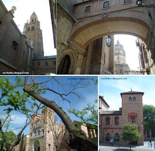 algunos (solo unos pocos) sitios interesantes de los que encontré por Toledo