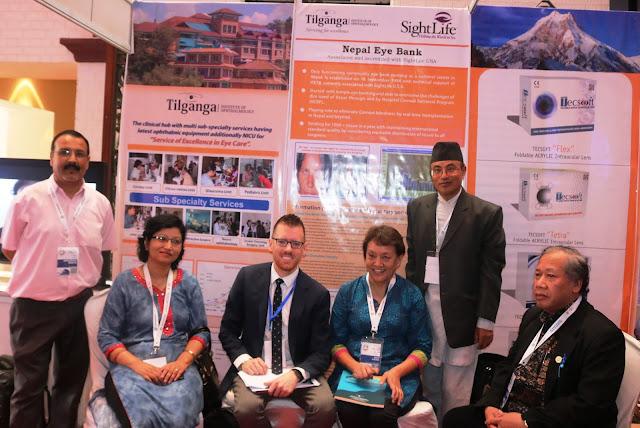 Bhagirath Baniya, Dr Reeta Gurung, Dr Leena Bajracharya and team