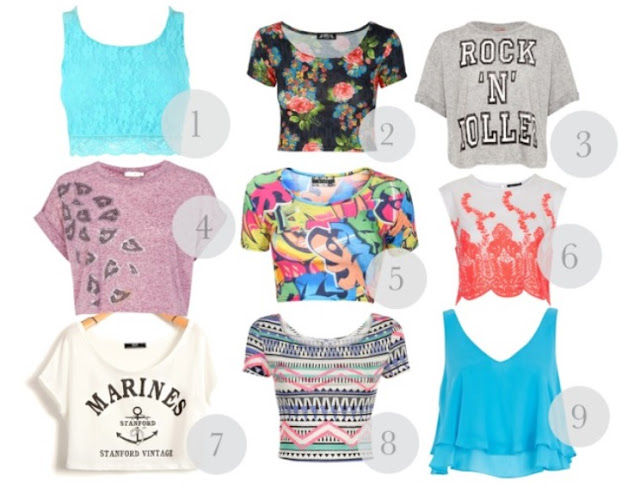 nine crop top finds for summer 2013! | Love, Maisie