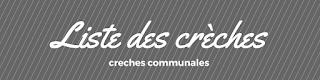Liste des creches communales à schaerbeek