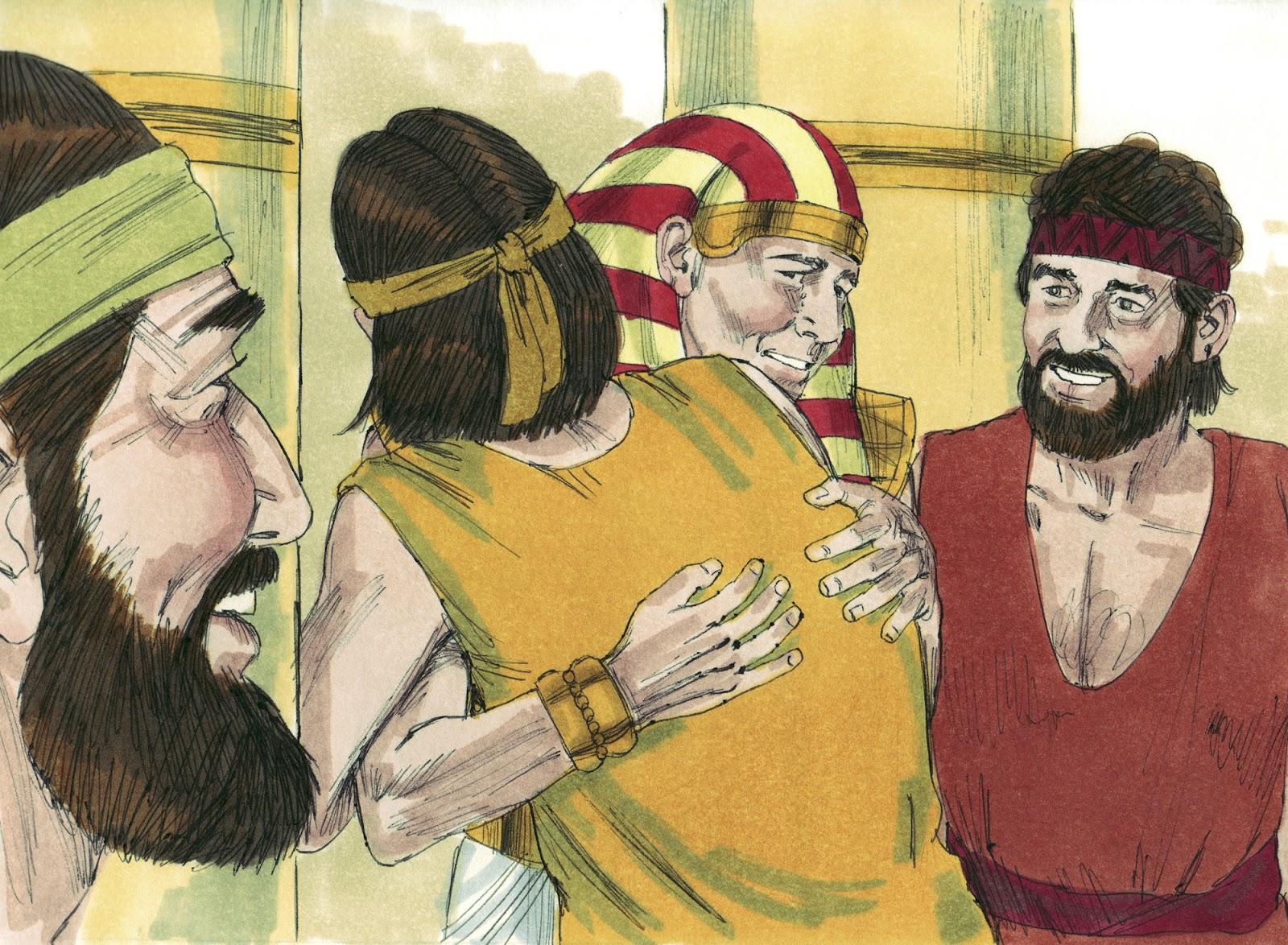 Bible Fun For Kids 1 13 Genesis Joseph Reunited With