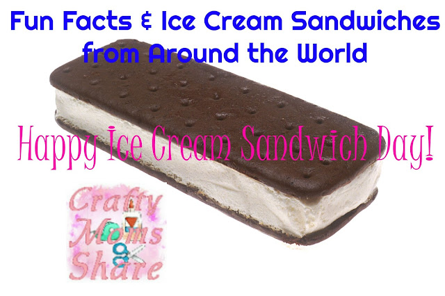 Fun Facts about ice cream sandwiches