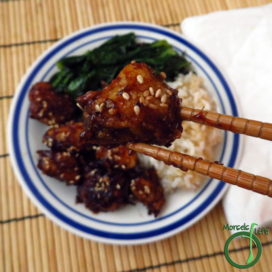 Morsels of Life - Sesame Chicken - Make yourself some Sesame Chicken that's better than takeout!