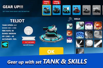 Hai sahabat kini aku akan kembali lagi dalam mengembangkan sebuah game android terbaru yang  Unduh Game Tank Raid - 3D Online Multiplayer  v2.04 Mod Apk