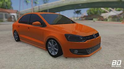 Volkswagen Polo para GTA San Andreas - Frente
