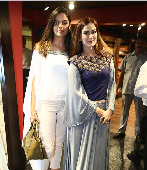 Designer Padma Swarupa with Singer Priyanka Goyat