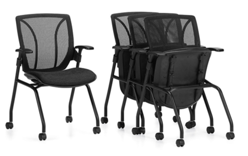 Roma Mesh Folding Nest Chairs by Global