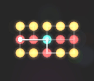 Solution, Cheats, Walkthrough for Neon Hack [Neon Dots] Level 28