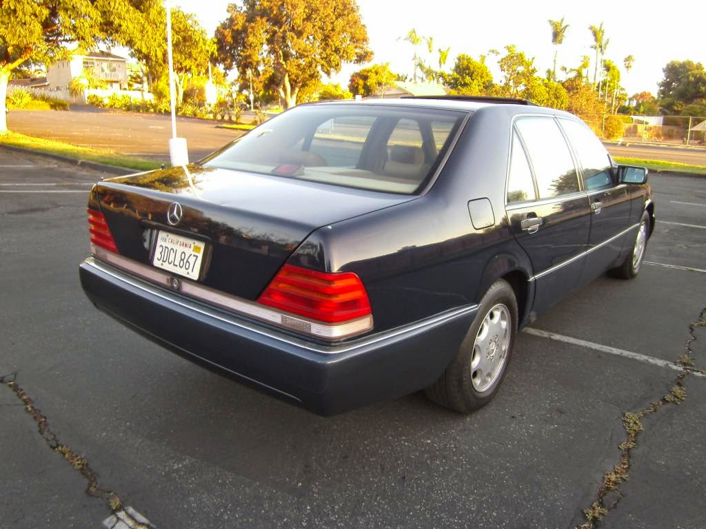 Daily Turismo: 5k: Craiglsist vs eBay: 1993 Mercedes 400 SEL W140