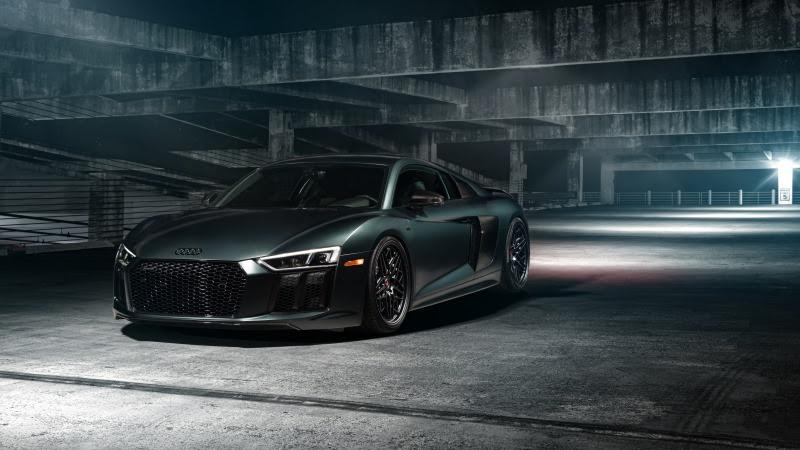 Audi R8 (Vossen Green) HD