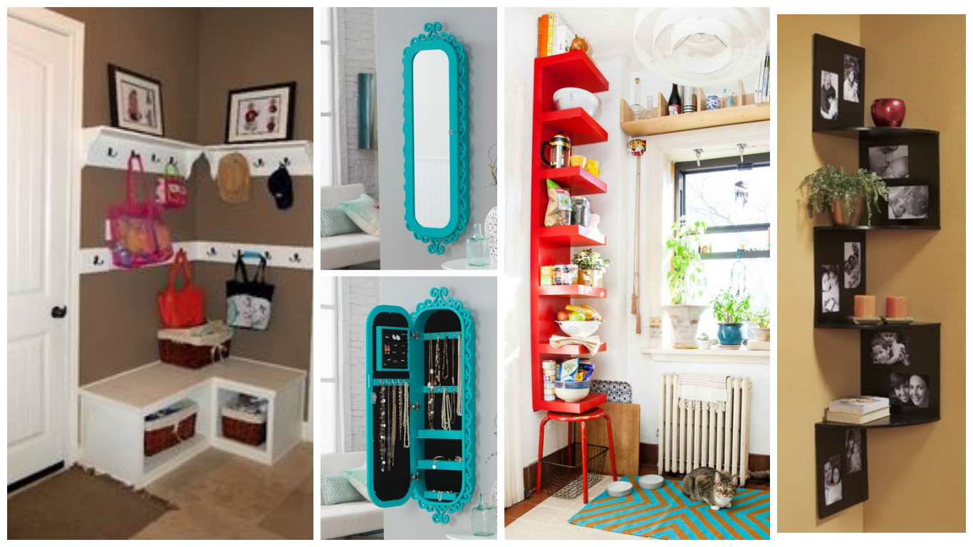16 ideas para aprovechar y decorar las esquinas de la - Decoraciones de fotos ...