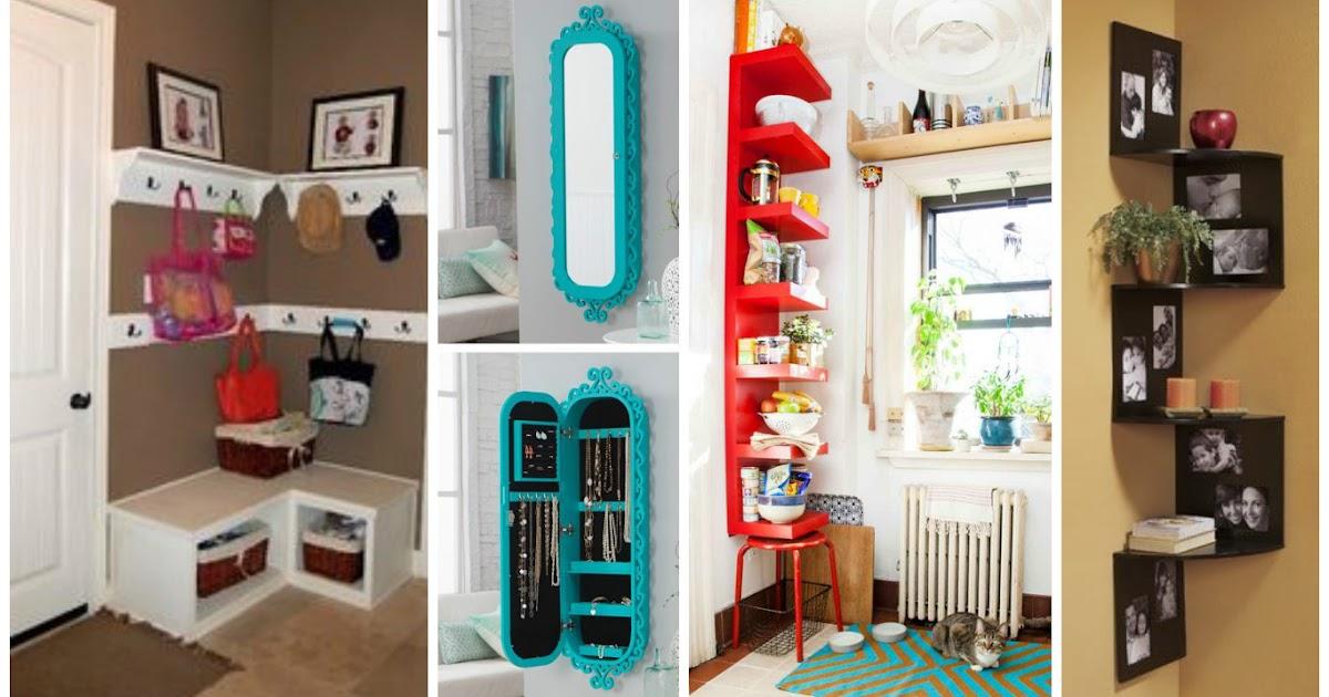 16 ideas para aprovechar y decorar las esquinas de la - Idea para decorar mi casa ...