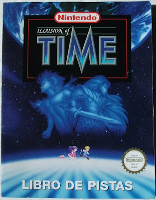 Illusion of Time - Manual / guía portada