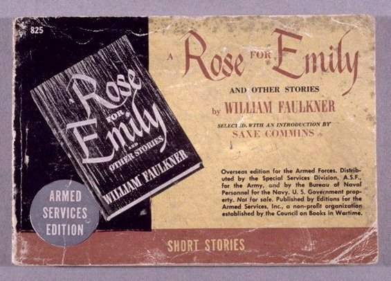 A description of william faulkners first published story of a rose for emily