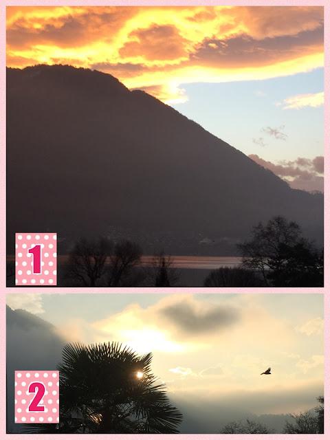 Sonnenaufgang hinter der Rigi
