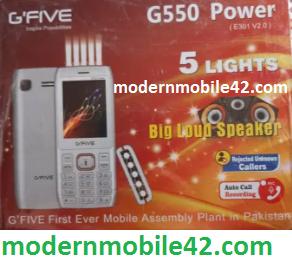 gfive g550 power e301-v2.0 firmware 100% Tested File Downloads Free By  modernmobile42.com