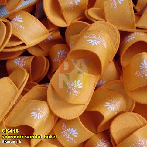 souvenir sandal hotel