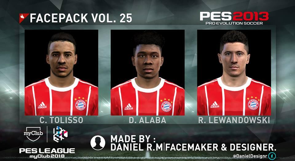 ultigamerz  PES 2013 Bayern Munich Mini Face Pack 2018 b892ecf57