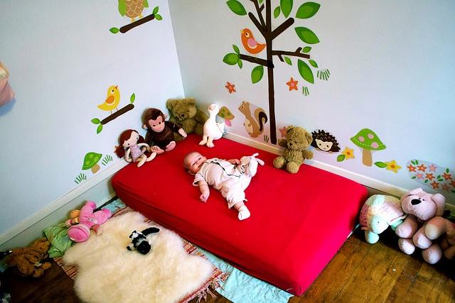 Soy profesora y m s camas montessori - Habitacion para 2 ninos ...