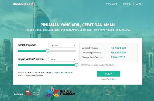 DanaBijak Pinjaman Online