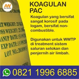 Penggunaan PAC dalam Water Treatment | Jasa Pengolahan Limbah Industri WWTP WTP di Bandung Bogor Sukabumi Jakarta Tangerang