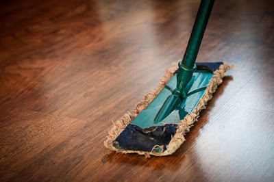 Vacuum or sweep your bedroom floor thoroughly.