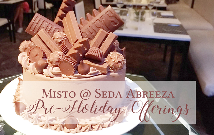 Misto at Seda Abreeza Pre-Holiday Offerings