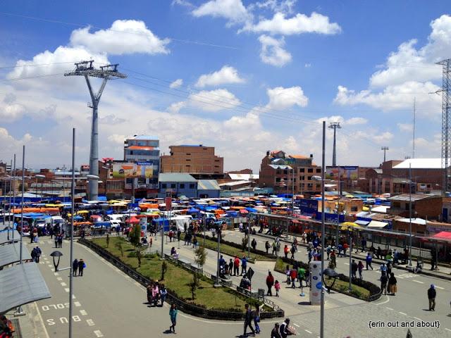 {ErinOutandAbout} Visit Bolivia: El Alto Market