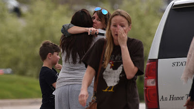 Colorado school shooting: One dead and seven wounded