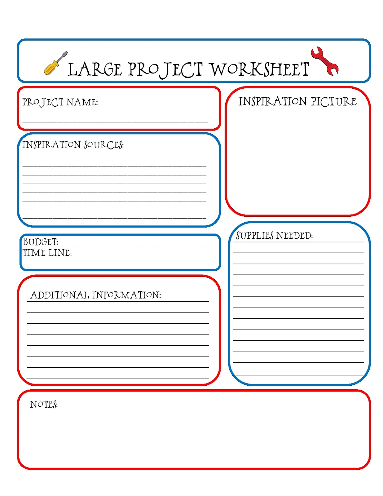 Task Completion Worksheet