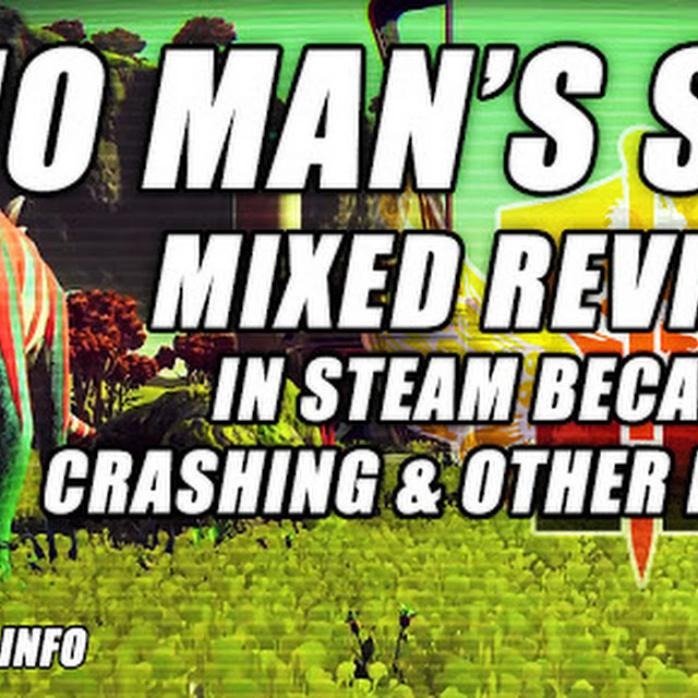 No Man's Sky Is Getting Mixed Reviews In Steam Because Of Crashing And Performance Issues