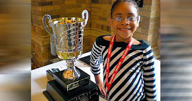 Diamond Shakoor, youngest Black female chess champion