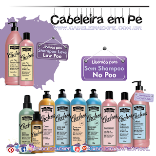 Novos Produtos Yamasterol Cachos - Yamá (Shampoo Low Poo e demais produtos No Poo)