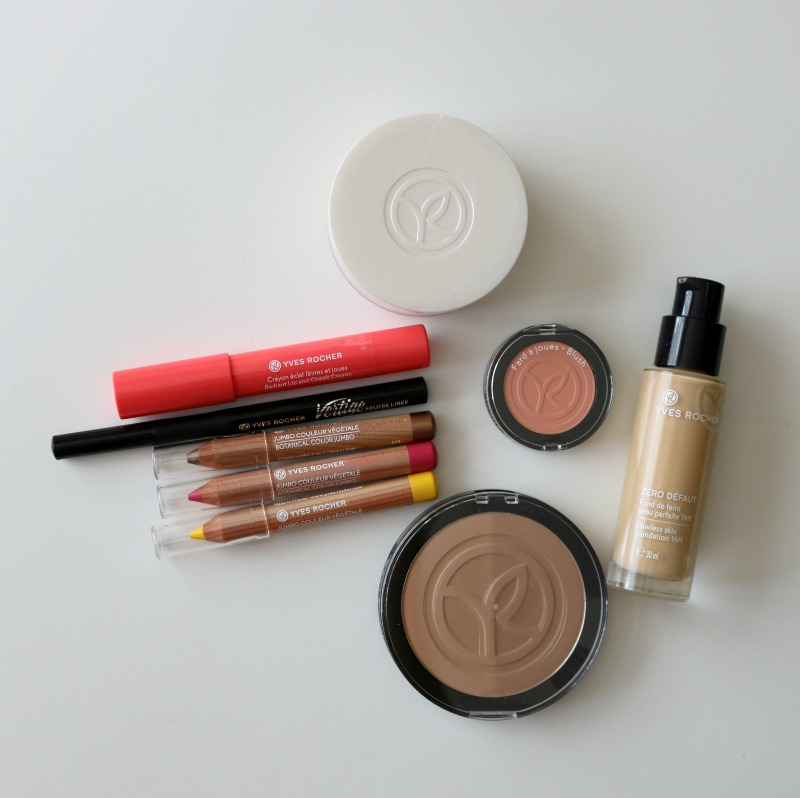 Yves Rocher Summer Collection Makeup Look