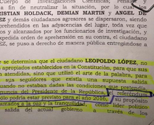 Lo que revela la sentencia de Leopoldo sobre el RR