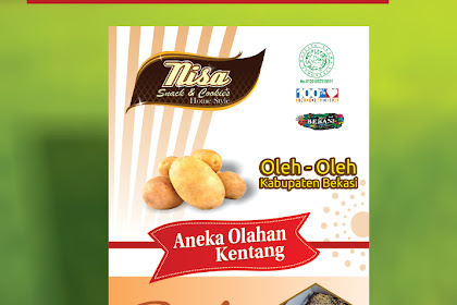 Contoh Roll Up Banner Cookies