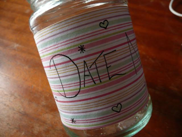 DIY Date Night Jar Couple Craft Simple