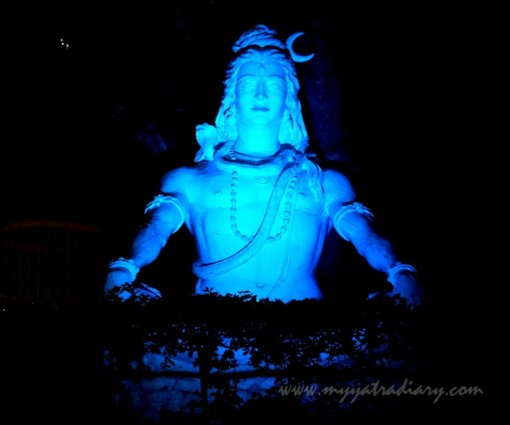 Lord Shiva in Parmarth Niketan Ashram, Rishikesh