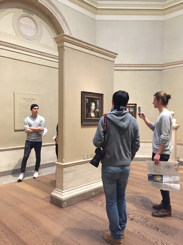 Museum Hack, National Gallery of Art, DC Museums, Art Gallery, DC Events, Things to do in DC, Museum Tours, Leonardo da Vinci painting, Ginevra de' Benci painting
