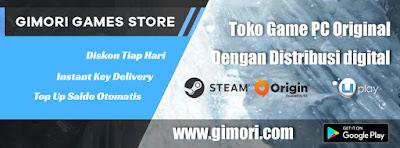 Gimori, Tempat Beli Game Original Tanpa Kartu Kredit