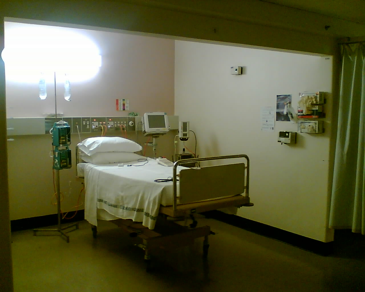 An Animation In The Making Hospital Room