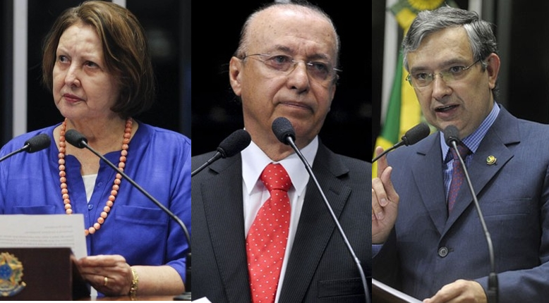 Senadores de Sergipe votaram a favor do impeachment