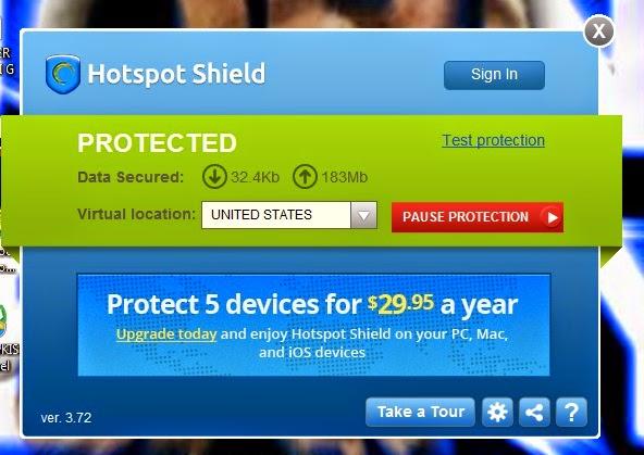 Download hotspot shield android terbaru