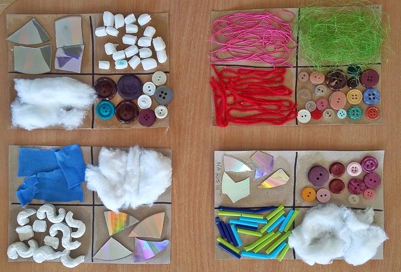 Kolorowy świat Dzieci Nasze Zmysły Dotykowe Tabliczki