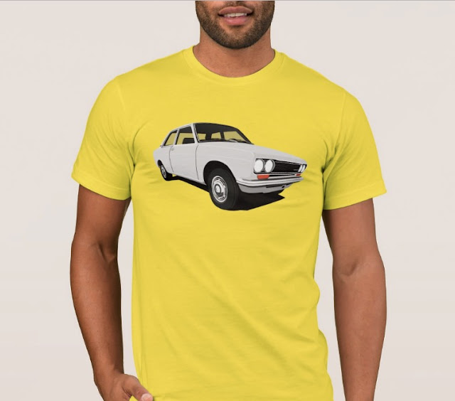 White Datsun Bluebird 1600 510 t-shirt