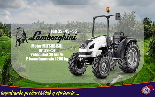 Potencia Del Tractor Agricola Lamborghini