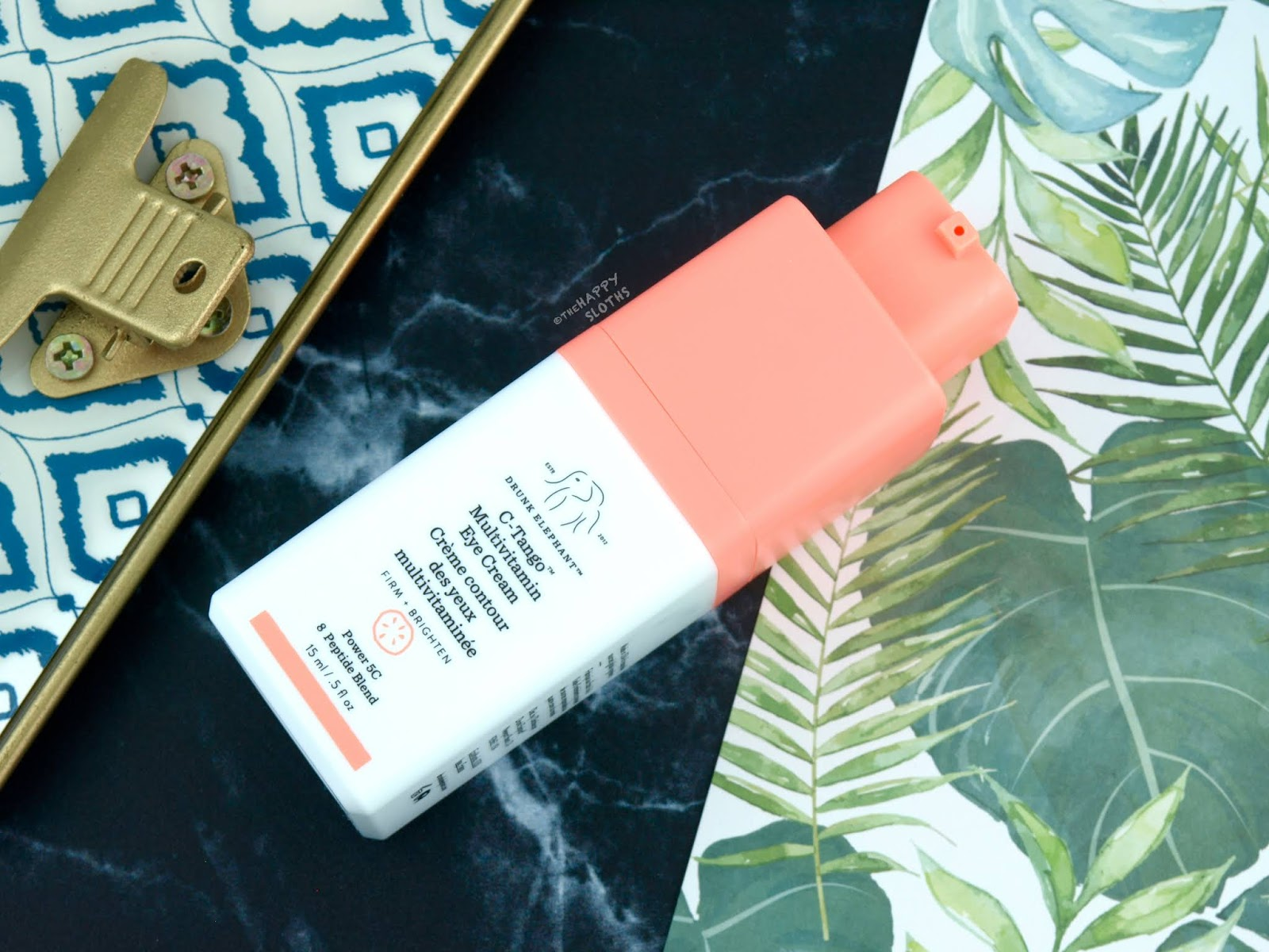Drunk Elephant | C-Tango Multivitamin Eye Cream: Review
